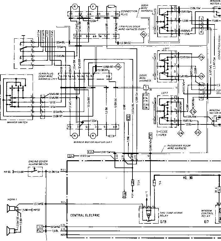 1990 Porsche 944 Computer Wiring Diagram
