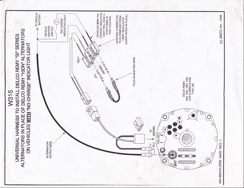 Ford Alternator Wiring Diagram Alternator Wiring Diagram