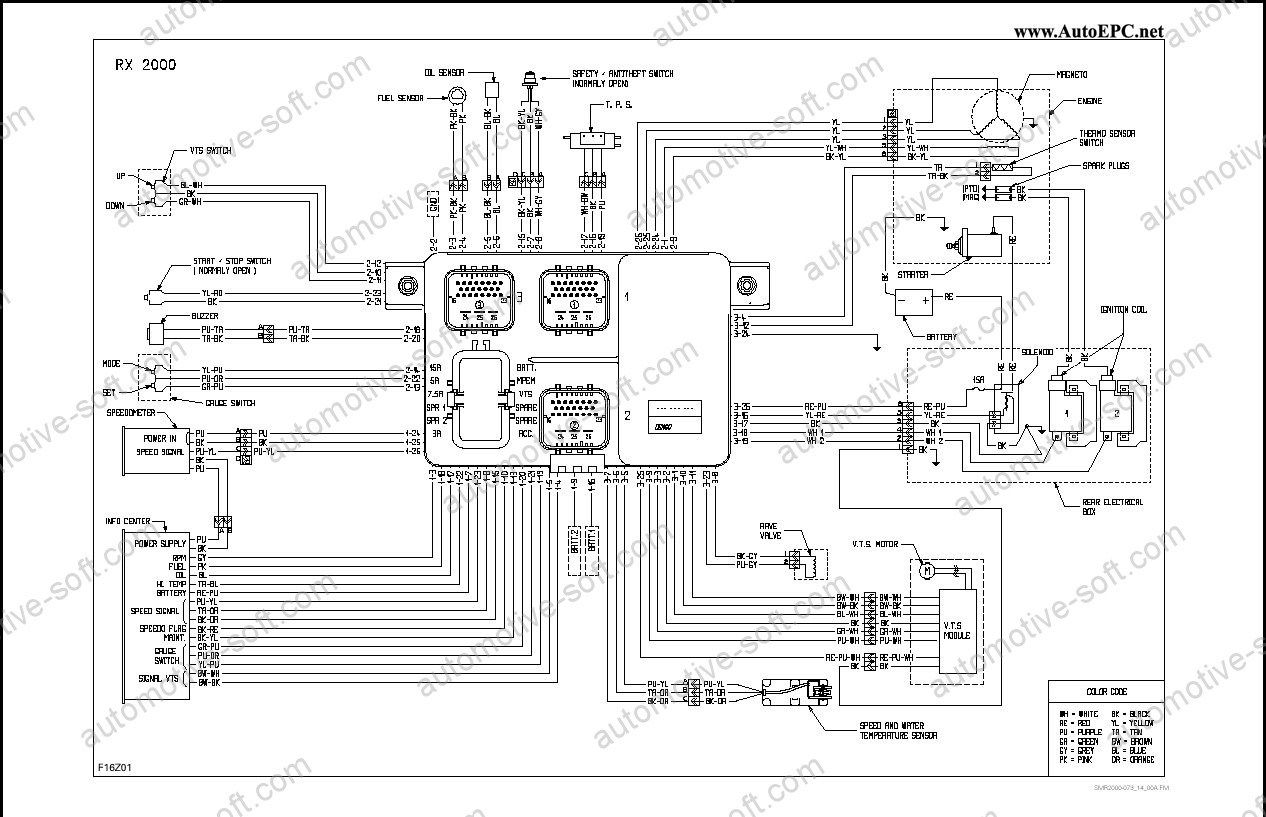 1994 Sea Doo Xp Mepm Wiring Diagram