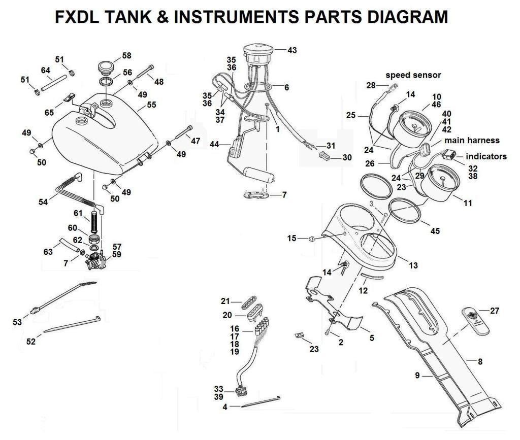 1996 Dyna Wide Glide Wiring Diagram Harley Dyna Wiring Diagram Tail on