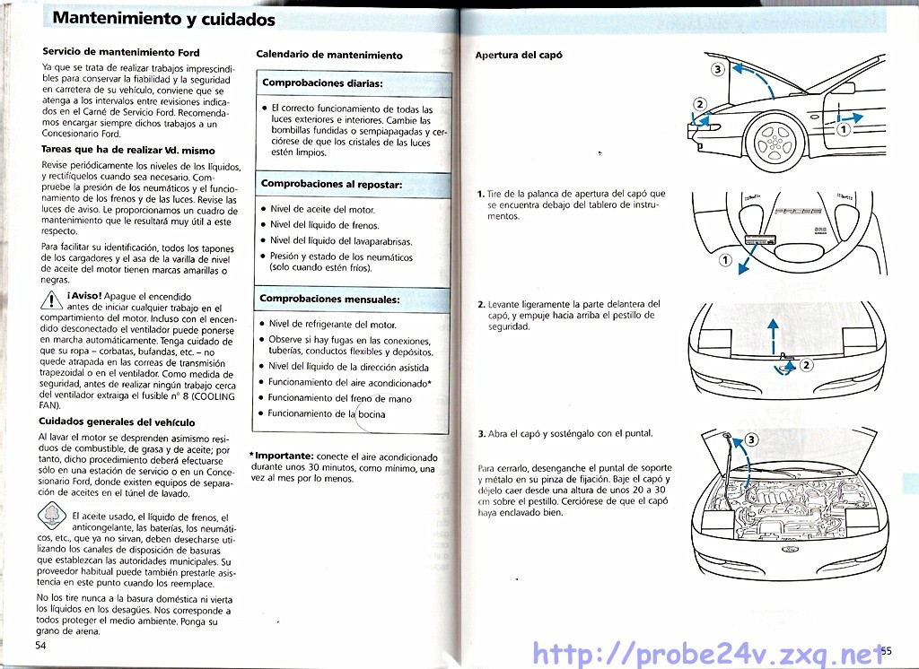 1996 Mazda Mx6    Ford Probe Wiring Diagram