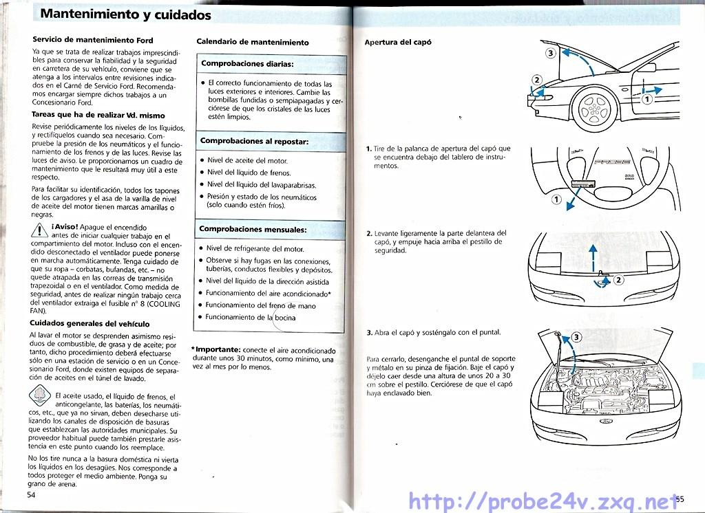 1996 Mazda Mx6    Ford Probe Wiring Diagram