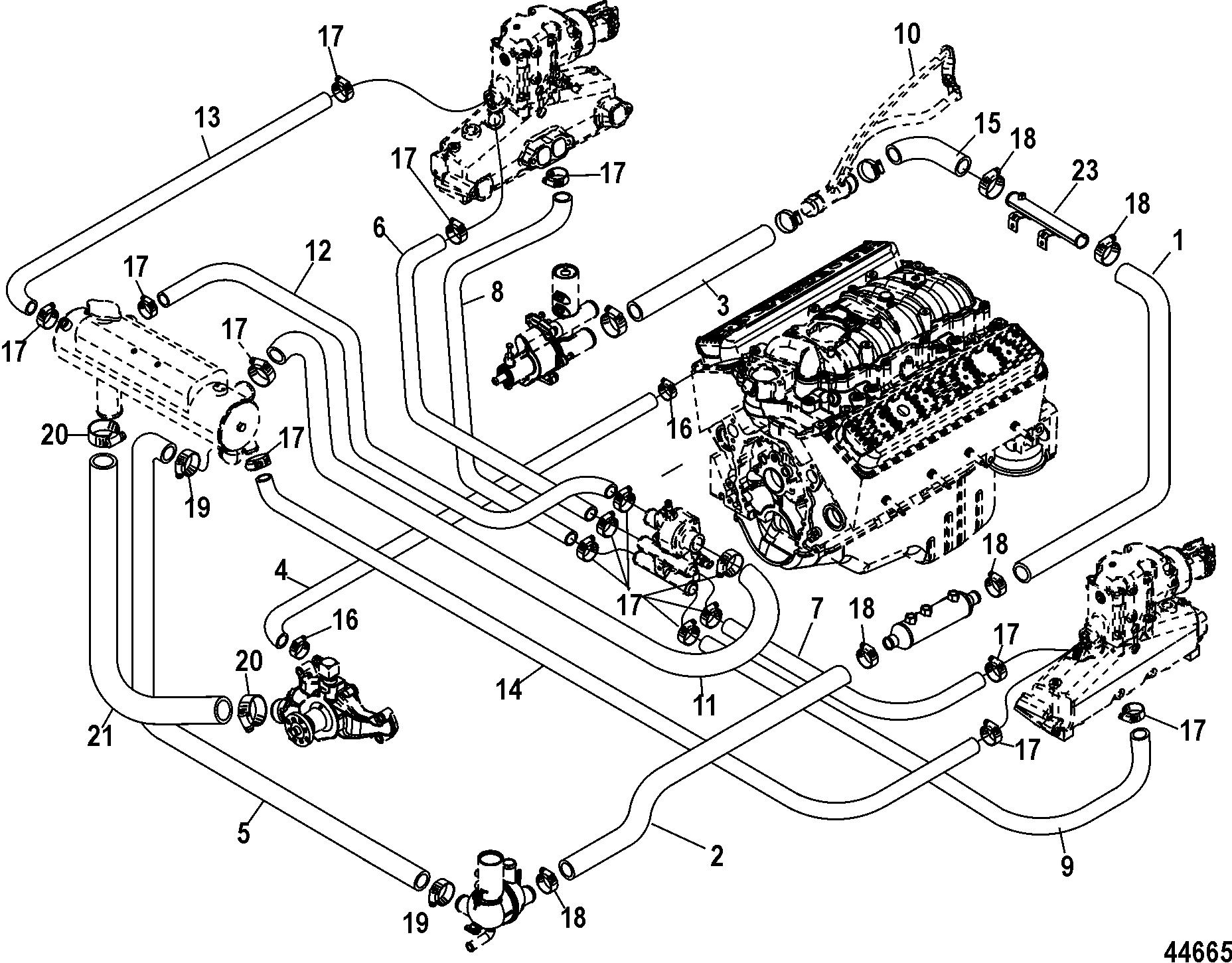 1996 Mercruiser 5 7 Wiring Diagram