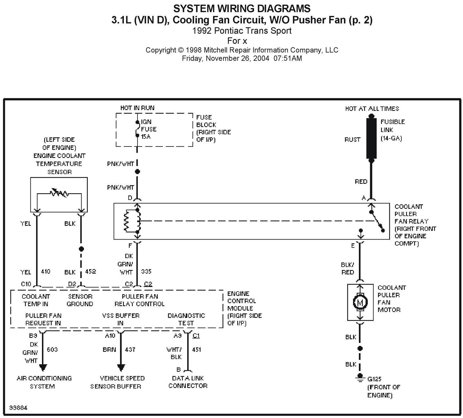 1997 Chevy Camaro Vin K Alternator Wiring Diagram