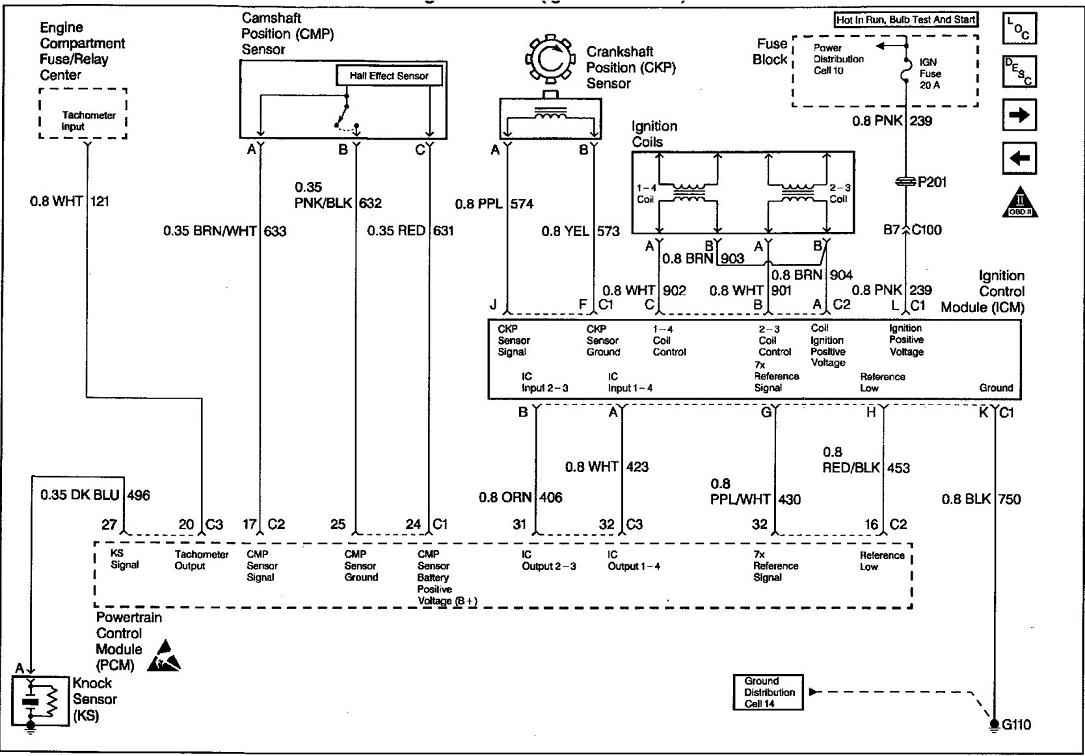 1998 Chevrolet K2500 7.4l Ignition Coil Wiring Diagram