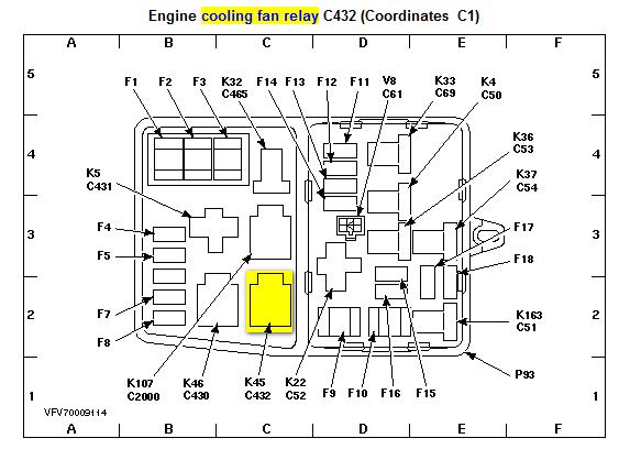 1998 Mercury Mystique Radio Wiring Diagram