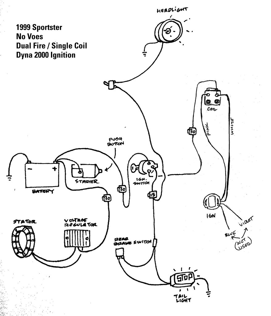 2000 Harley Wide Glide Wiring Diagram - All Diagram Schematics on