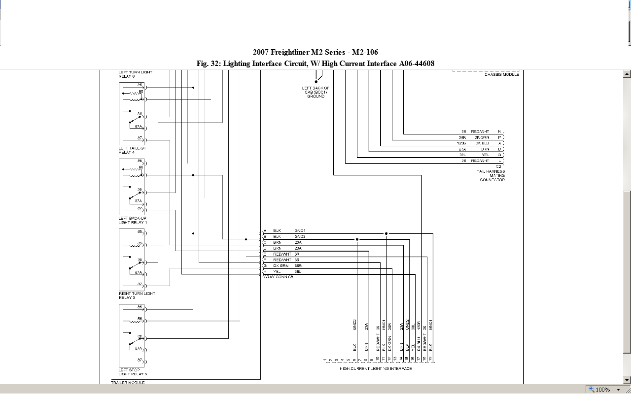 1999 Freightliner Mt45 Wiring Diagram