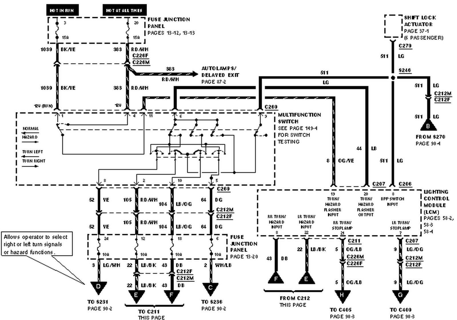 1999 Isuzu Npr Wiring Diagram Turn Signal