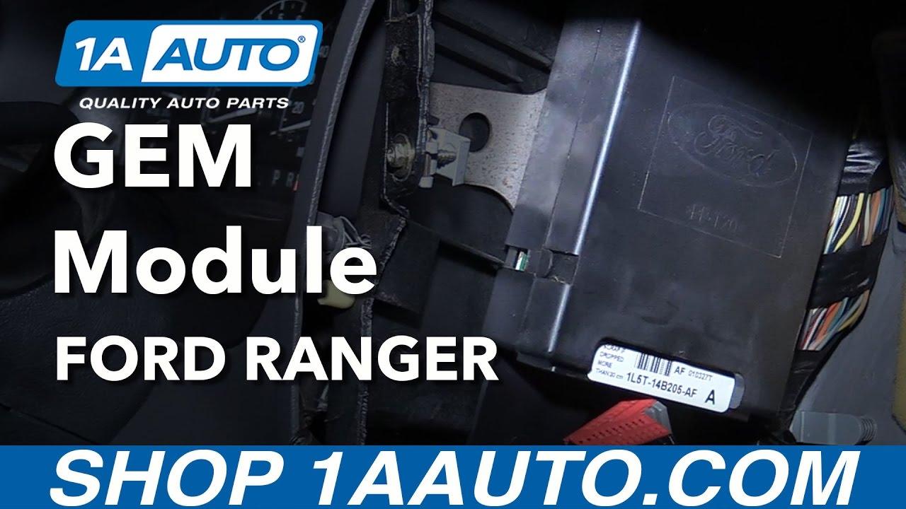 2000 Ford Ranger 2 5l Gem Wiring Diagram