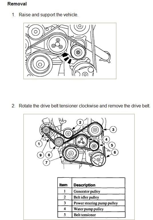 2000 Honda Passport Serpentine Belt Diagram