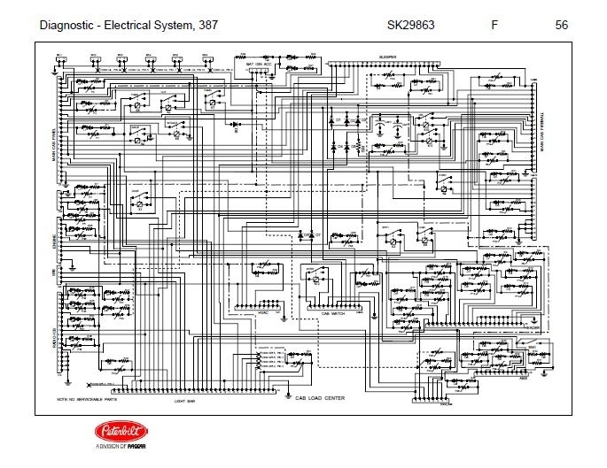 2000 Peterbilt 379 Fuse Panel Diagram