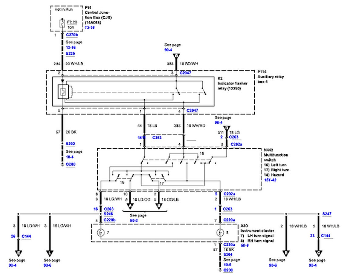 2002 Ford F150 Wiring Diagram 5.4l Ford F Wiring Schematics on