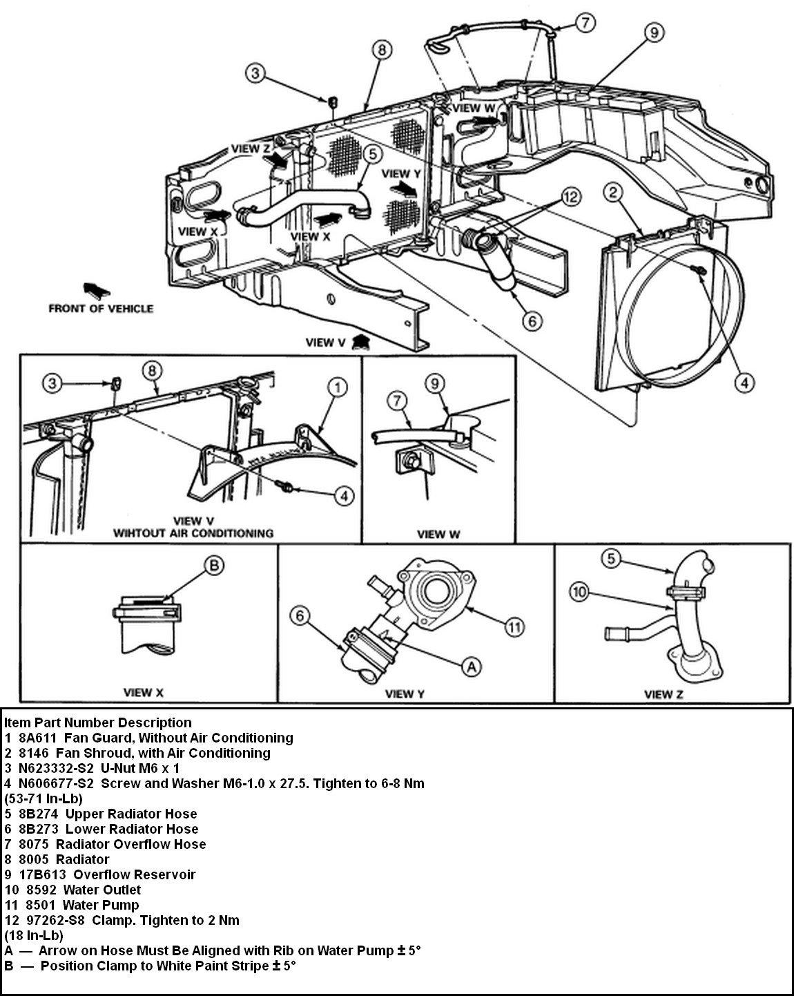 2003 ford ranger 2.3 engine diagram