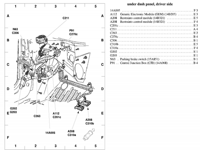 2002 Ford Ranger 2 3 Cooling System Diagram