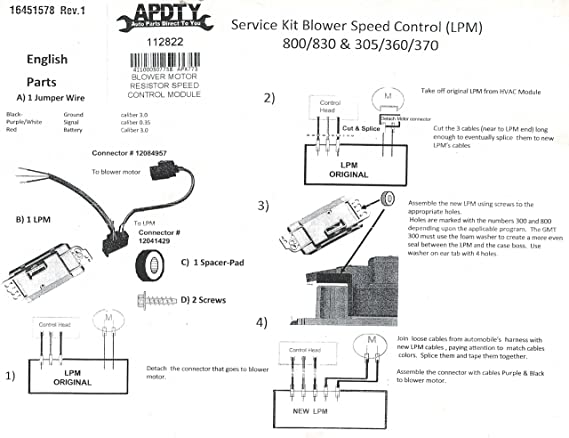 04 Envoy Blower Motor Wiring Diagram