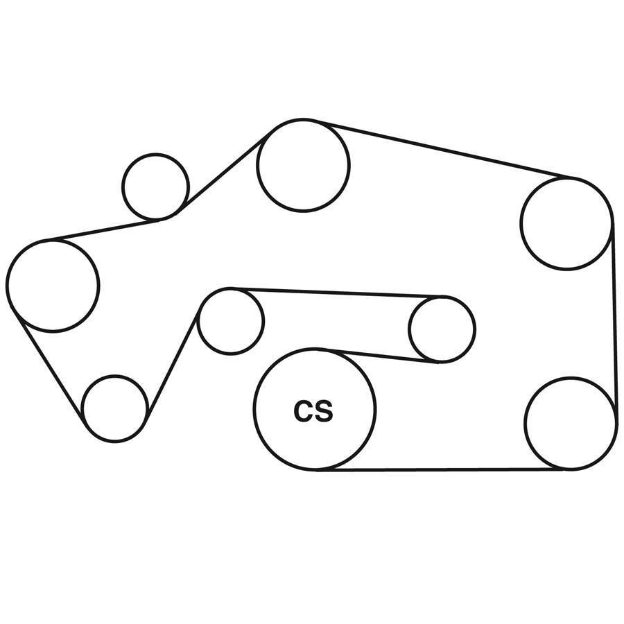 2002 Nissan Sentra 1 8 Serpentine Belt Diagram
