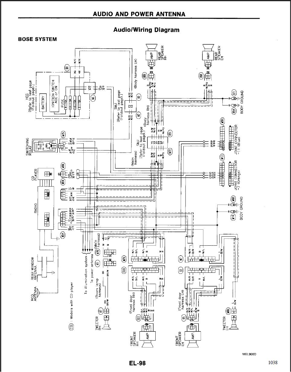 2003 Acura Tl Bose Stereo Wiring Diagram on