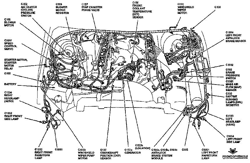 2003 Ford Excursion 6 8l Mass Air Wiring Diagram
