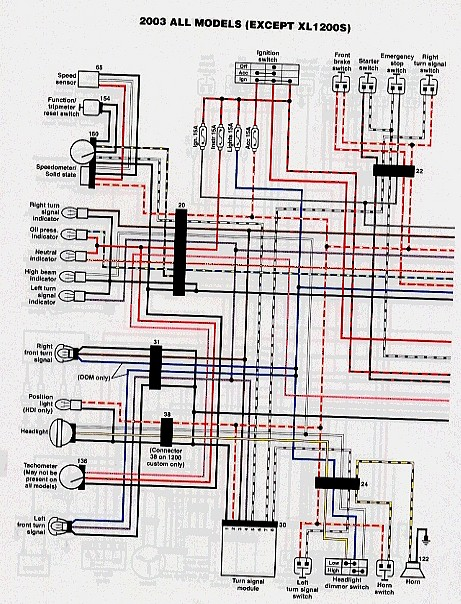 2003 Harley Davidson Xl883 Acc Wiring Diagram on
