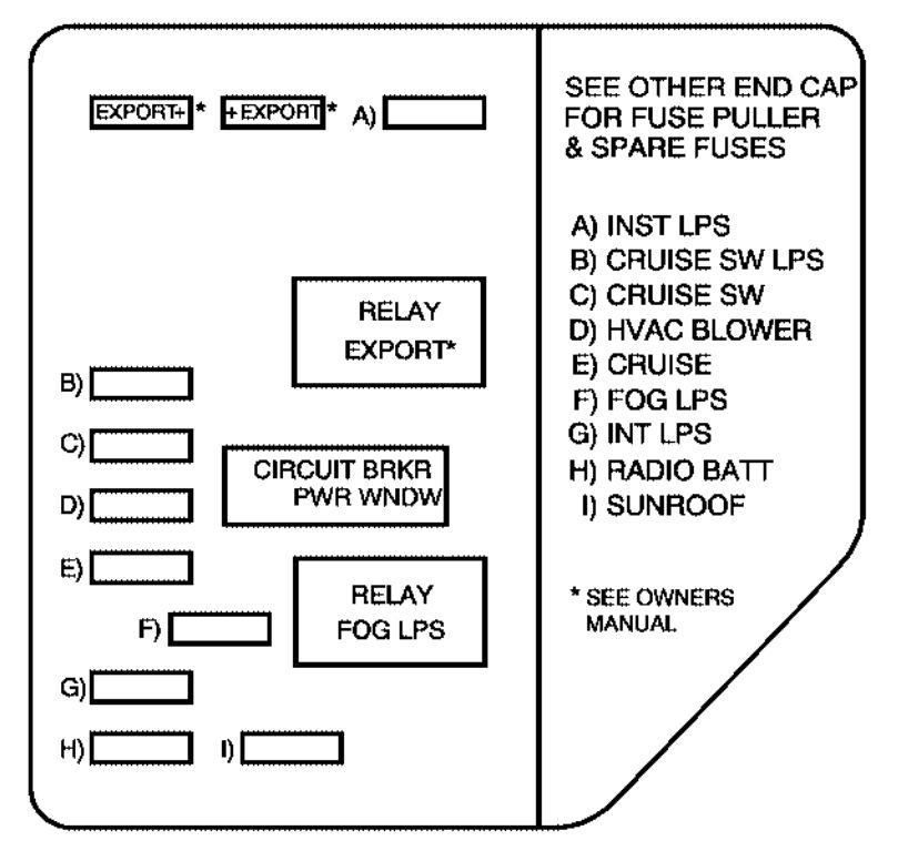 2003 Pontiac Vibe Power Mirror Wiring Diagram
