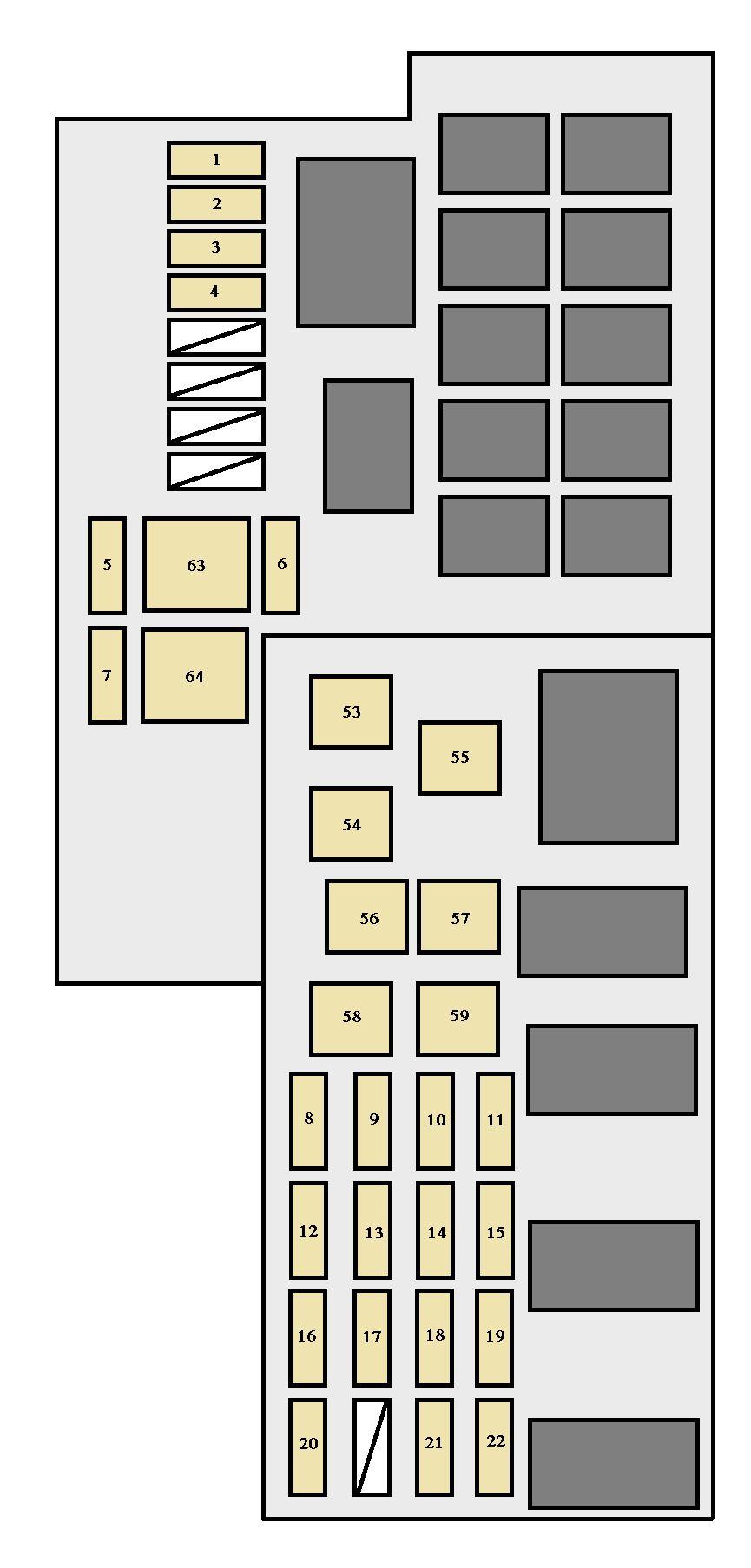2003 Toyota Corolla Interior Fuse Box Diagram