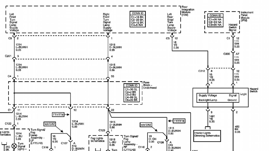2004 Srx Fuse Diagram - Wiring Diagram Schematics  Cadillac Cts Alternator Wiring on