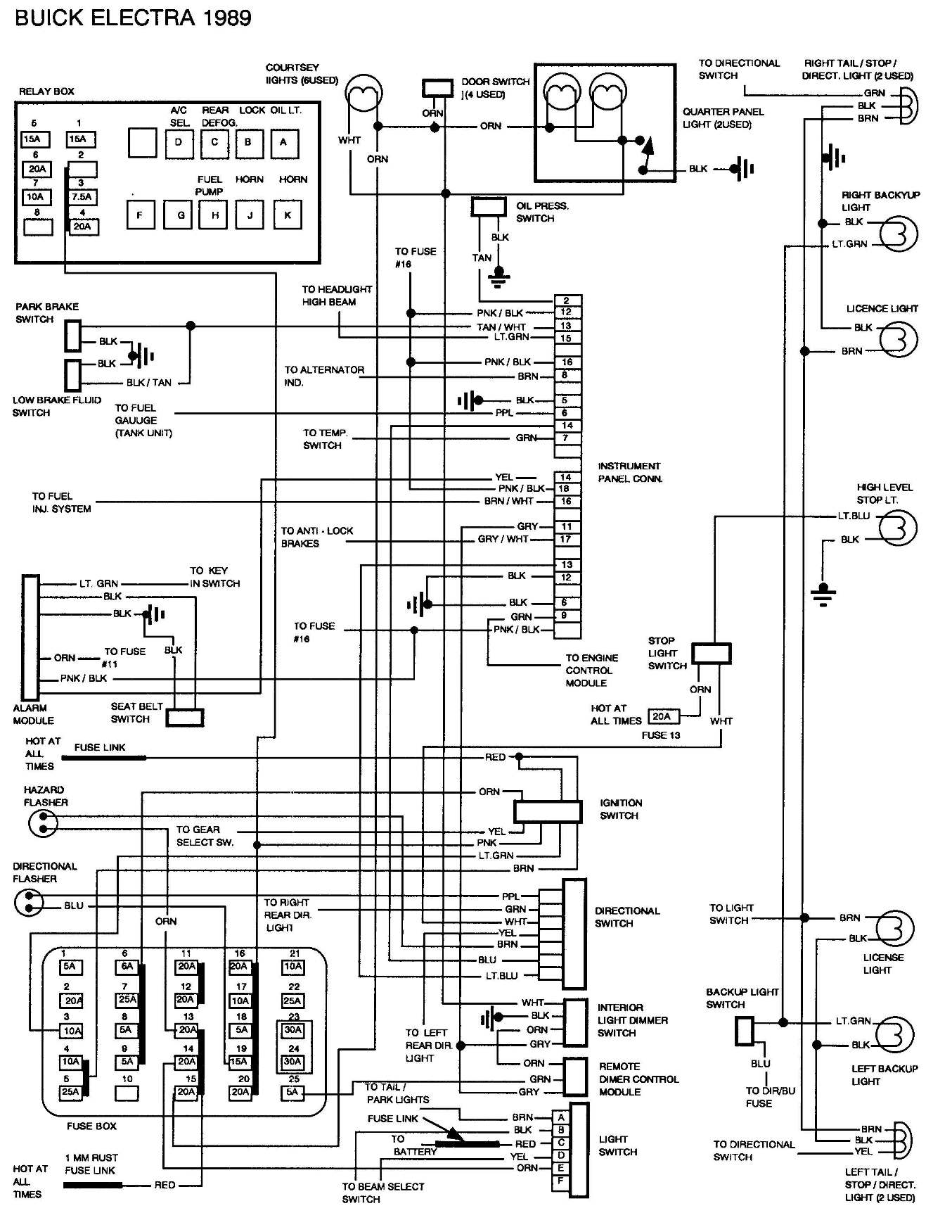 2004 Buick Rendezvous Wiring Diagram For Wheel on