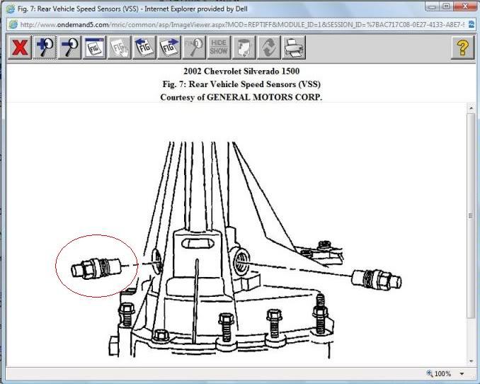 2004 Chevrolet Silverado 2500hd Input Turbine Sensor ...