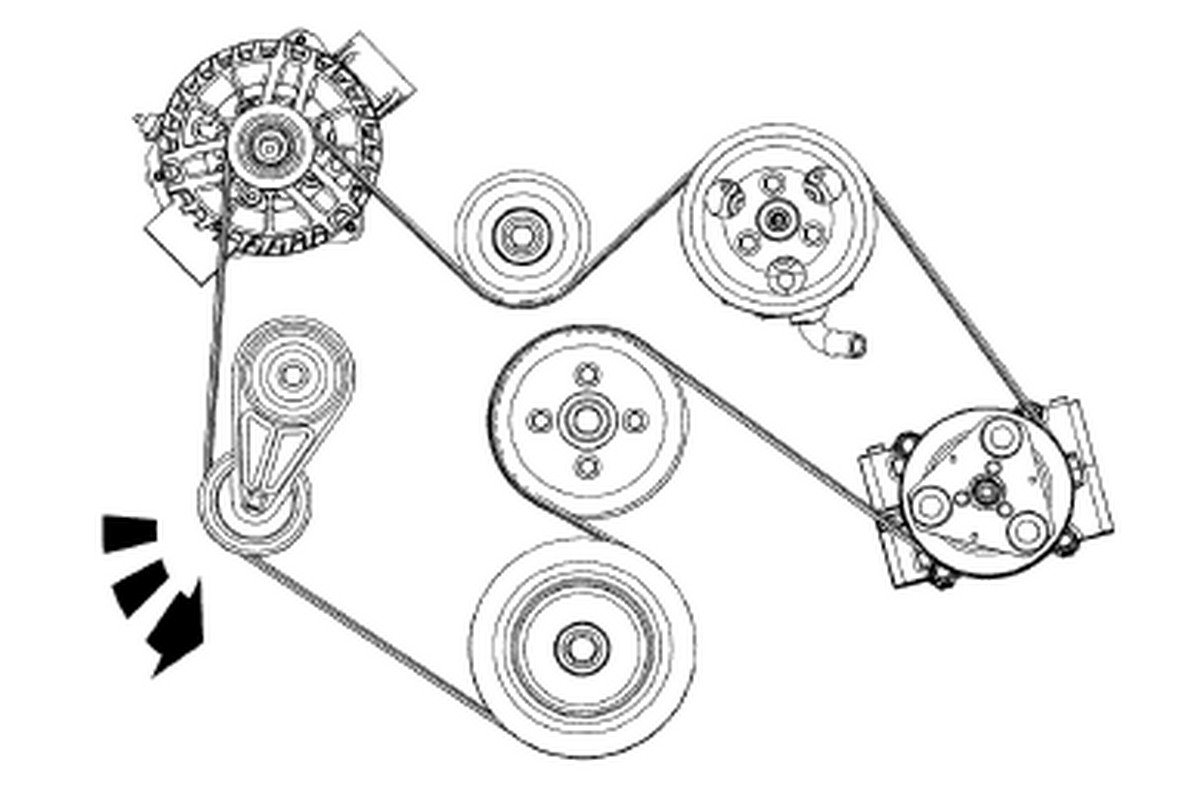 2004 Mustang Gt Serpentine Belt Diagram