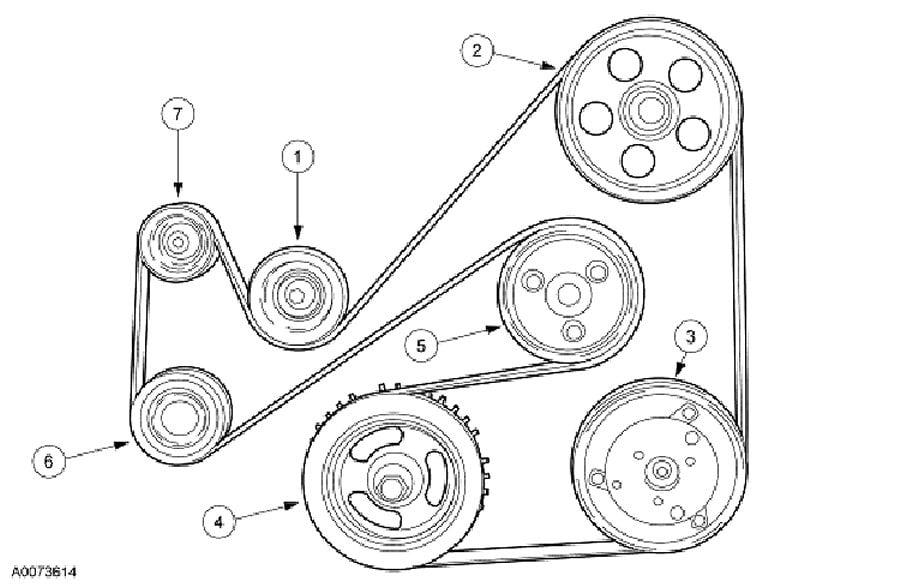 2004 ford focus serpentine belt replacement