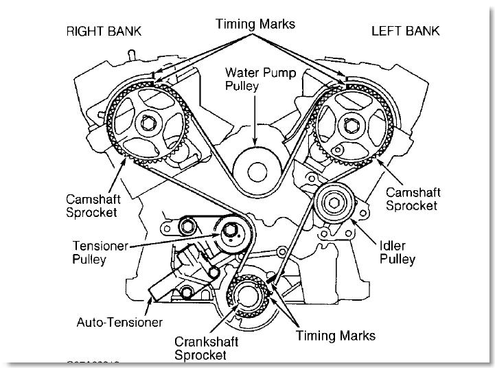 2005 Ford Freestyle Serpentine Belt Diagram