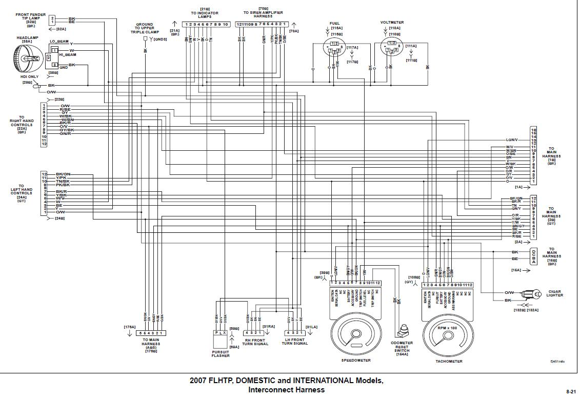 2005 Harley Davidson Fxstsi Wiring Diagram