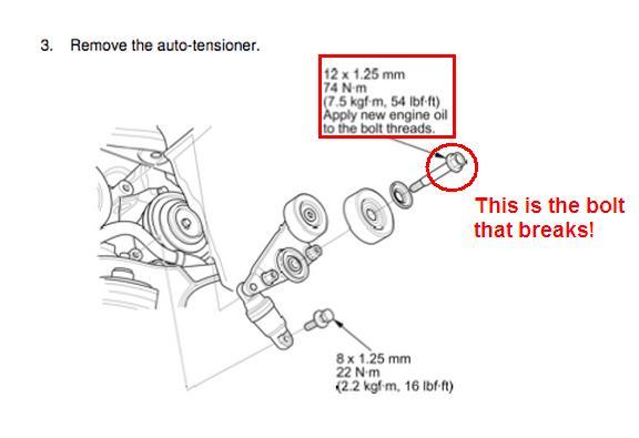 2005 Honda Odyssey Serpentine Belt Diagram