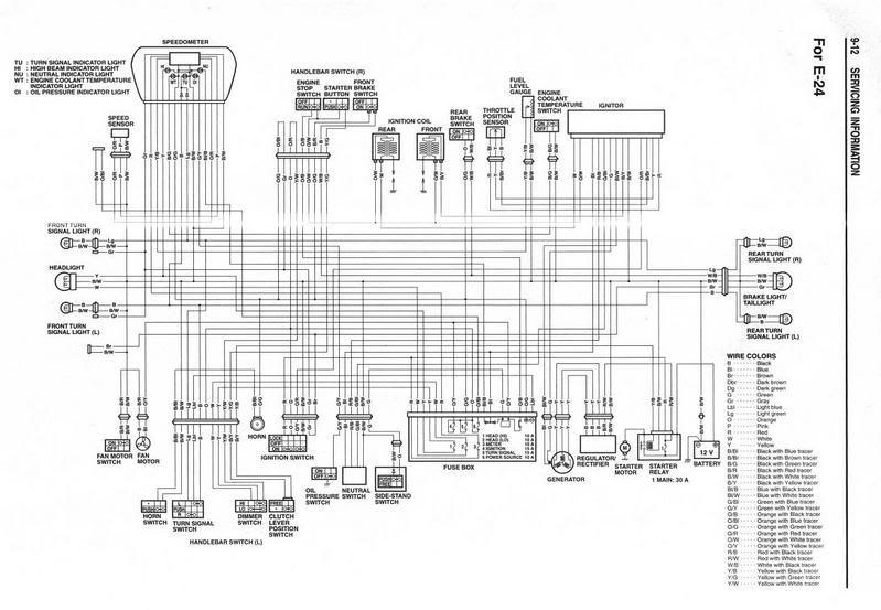 2005 Suzuki Boulevard C50 Wiring Diagram