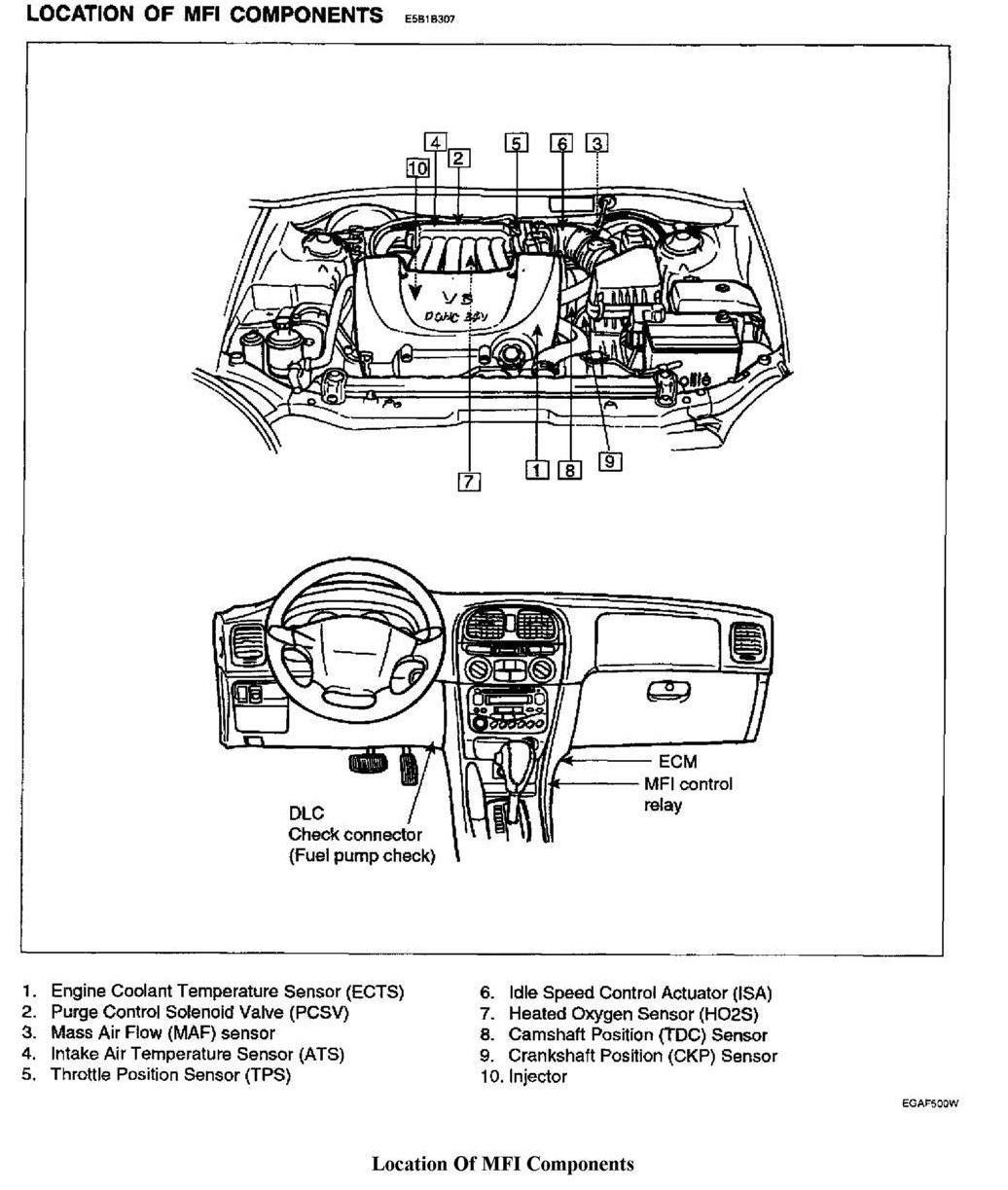 2006 Hyundai Tucson 2 7 Knock Sensor Wiring Diagram