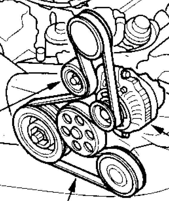 2007 Acura Tl Serpentine Belt Diagram