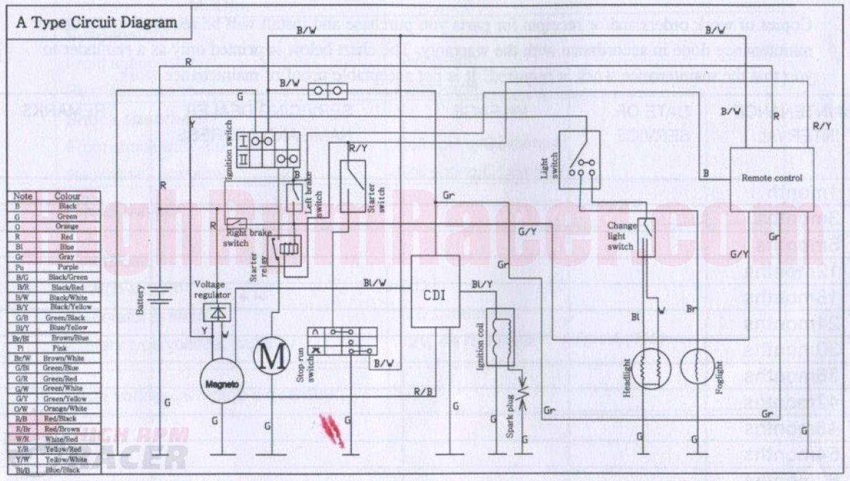 Sunl Atv 250 Wiring Diagram 000