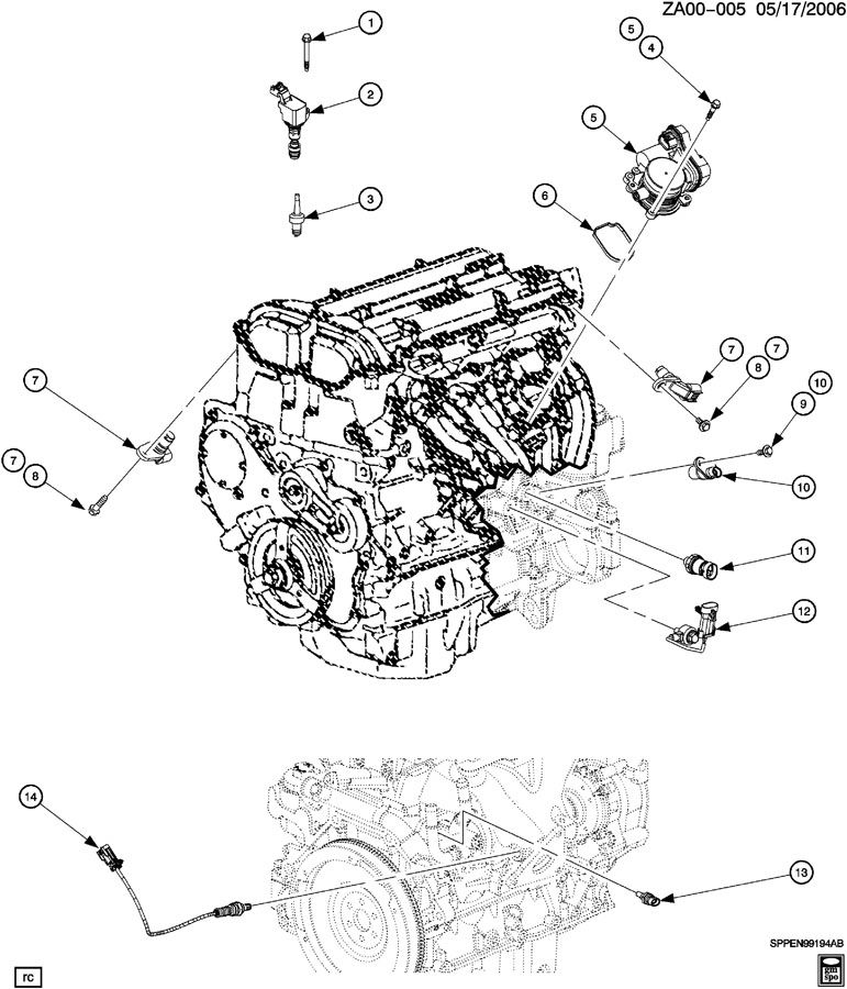 2007 Saturn Vue 2 2l Ecotec Engine Wiring Diagram