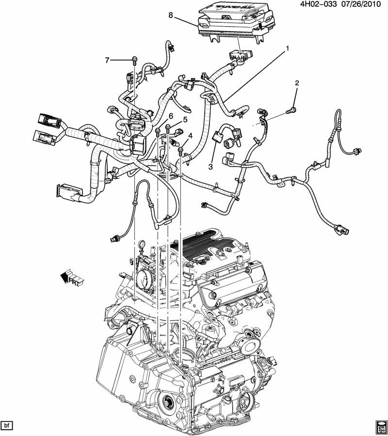2008 Buick Lucerne Wiring Diagram