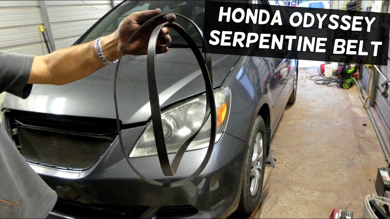 2008 Honda Pilot Serpentine Belt Diagram
