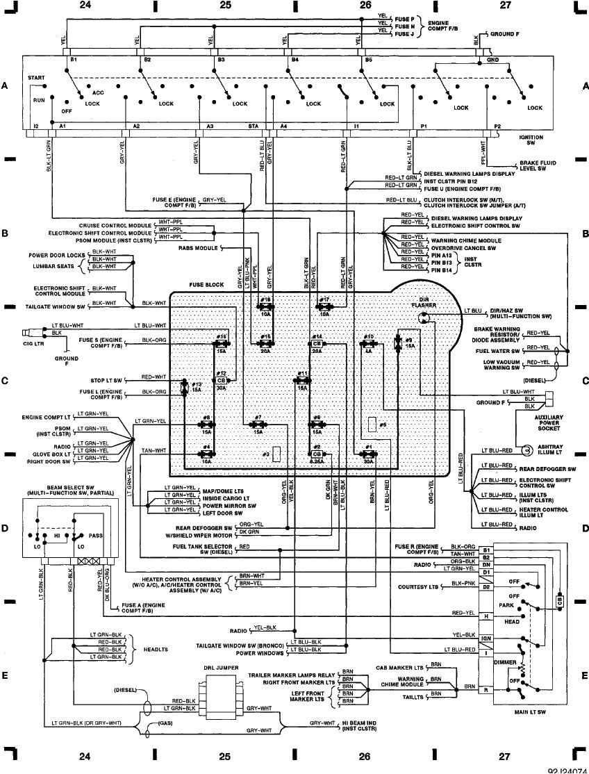 2009 Lincoln Mks O2 Sensor Wiring Diagram
