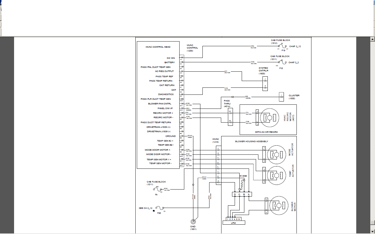 2010 International Prostar Wiring Diagram
