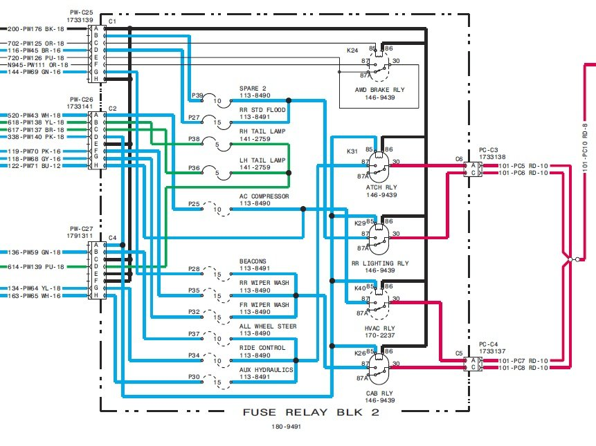 2011 Freightliner Cascadia Insturment Cluster Wiring Diagram