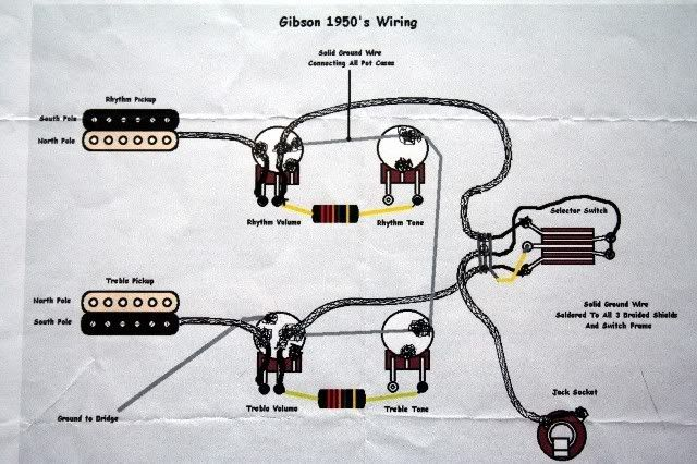 Gibson Les Paul Axcess Wiring Diagrams, Gibson Les Paul Wiring Schematic