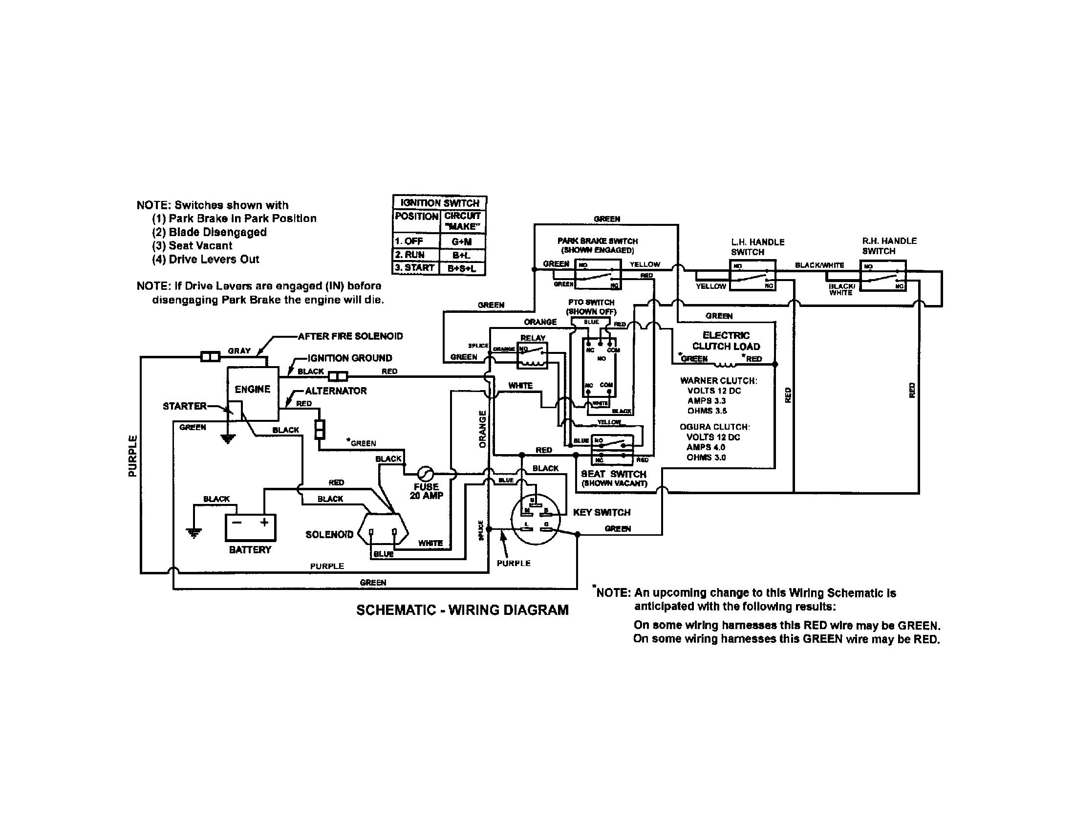 2012 Snapper Solenoid Wiring Diagram