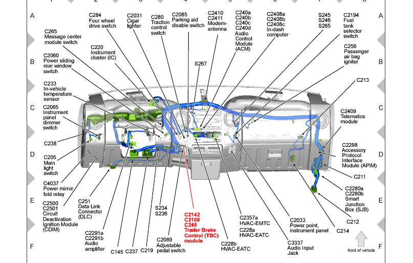 2013 F350 Upfitter Switch Wiring Diagram