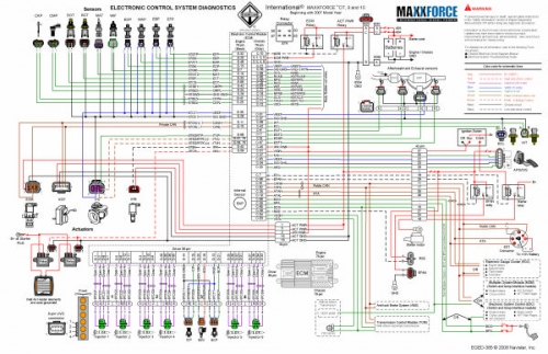 2013 Maxxforce 13 Throttle Pedal Wiring Diagram