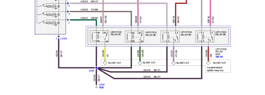 2014 F350 Upfitter Switch Wiring Diagram