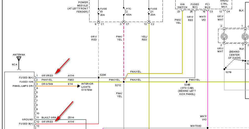 2005 Dodge Ram 1500 Trailer Wiring Diagram from schematron.org